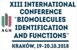 "XIII International Conference ""Biomolecules - Identification and Functions"""