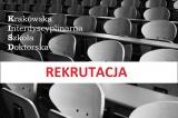 Ruszyła rekrutacja do Krakowskiej Interdyscyplinarnej Szkoły Doktorskiej