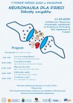 Dzień Mózgu pt. Neuronauka dla dzieci: sekrety zmysłów
