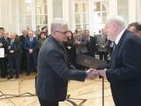 Uroczyste wręczenie powołania na członka korespondenta PAN prof. Ryszardowi Przewłockiemu